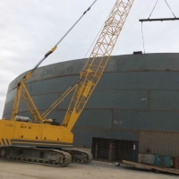 Buy cheap External floating roof tank for oil storage from wholesalers