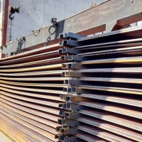 China Atmospheric corrosion resistant ASTM A588 structural steel plates factory