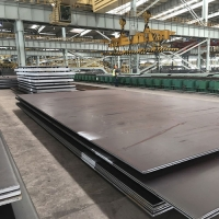 China High strength ASME SA588 corrosion resistant steel plates factory