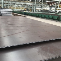 China Thermomechanical rolled EN10025-4 steel plates factory