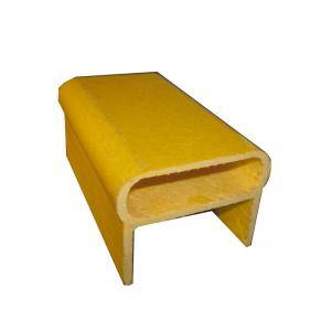China fiberglass profile for ladder factory