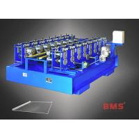 China Automatic Back Plate Roll Forming Machine 15KW Power For Shelves Equipment on sale