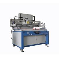 Buy cheap High Precision Automatic Silk Screen Press , Single Color Silk Screen Printing Equipment from Wholesalers
