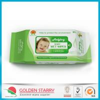 Buy cheap Fragrance Biodegradable Baby Wet Wipes 80 Sheets with Flip Lid from Wholesalers