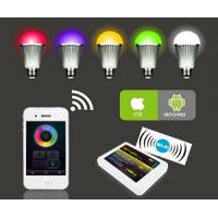 Buy cheap RGBw warm white 9w led bulb, remote control led light bulb,wifi color changing bulbs light from wholesalers
