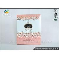 Buy cheap Luxury Pink Cosmetic Packaging Boxes For Mask Product / Cosmetic from Wholesalers
