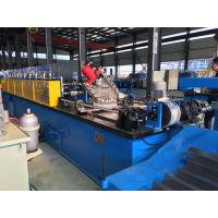 Buy cheap Hydraulic or Manual C Purlin Roll Forming Machine Drive by Chain High efficiency from Wholesalers
