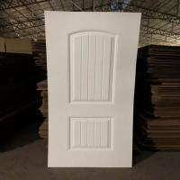 Buy cheap Environmental Friendly White Faced Hdf Door Skin For Exterior House Decoration from Wholesalers