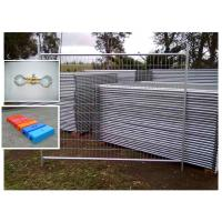 China galvanized temporary fencing panels on sale