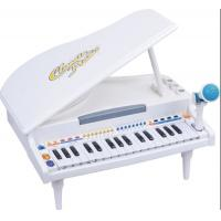 Buy cheap Functional Plastic Toddler Toy Piano 32 Keys Grand Type With Microphone from Wholesalers