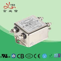 China 8A 2.5KW DC Power Noise Filter YD12D2 Aircraft Line Choke EMI Filter factory
