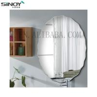 China Simple Frameless Mirror Beveled Edge On Wall factory