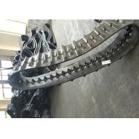 China Black Agricultural Tracks Wear Resistance Custom Rubber Tracks High Speed factory