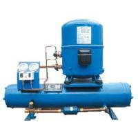 China Hermetic water-cooled refrigeration condensing unit, ACR unit, HVAC/R equipment factory