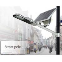 China Energy Saving 3300lm Solar Based Led Street Lights 20W Toughened Glass Material factory