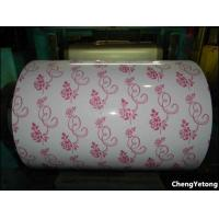 Buy cheap Custom Pattern Printing Aluminium Coil Coating , Ceiling Decoration Painted Aluminum Coil from Wholesalers