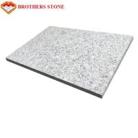 China 1st Grade Honed G603 Granite Slabs Grey Paving Stone Slab Good Resistance To Corrosion on sale
