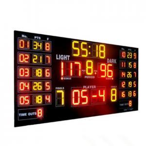 China Customized Luxury Multi LED Basketball Scoreboard For Basketball Sporting factory