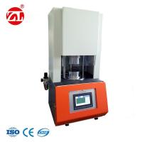 Non - Rotor Rheometer Rubber Testing Machine Single - Chip Control / Lab Used