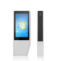 """China 3600W 4000cd/m2 FHD 55"""" Interactive Touch Screen Kiosk factory"""