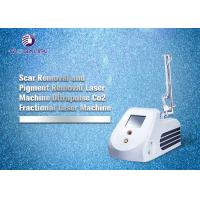 Buy cheap RF Tube CO2 Fractional Laser Machine For Wrinkle Removal And Skin Tightening from Wholesalers