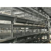 China 5 Tiers Poultry Automation Equipment Customized Size  ISO Certification factory