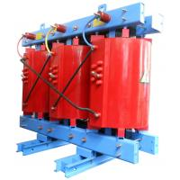 China 33kV - 630kVA Dry Type Transformer Self Extinguishing 3 Phase Transformer on sale