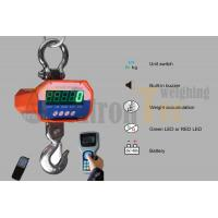 China Intergrated Load Cell Design Electronic Crane Scale Digital Crane Scale Aluminium Alloy Housing factory