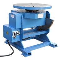 China 20T Capacity 0.5RPM Tank Flange Welding Rotary Table factory