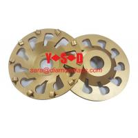 Buy cheap 7 Inch PCD Concrete Grinding Wheel/Disc with Cup shaped for Angle Grinder from Wholesalers