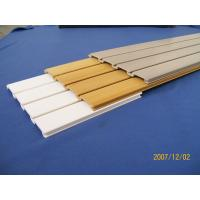 Buy cheap Insulated Interior Heavy Duty Garage Waterproof PVC Slatwall Panel from Wholesalers