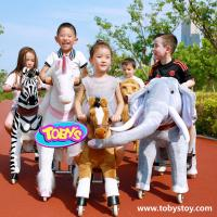 Tobys Ride on horse toy Riding horse animal toy