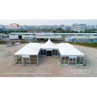 Buy cheap 5x5m Modular Magic Tent With Glass Walls For VIP Event from Wholesalers