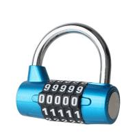 Buy cheap Five - Digit Type Locker Padlock For Gym Wardrobe / Club Management from Wholesalers