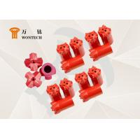 China Fine Alloy Steel Endurable Taper Button Bit For Environmental Drilling factory