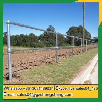 Buy cheap Darwin ball joint steel railing stanchions system used in industry from wholesalers