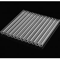 China heat resistant  orosilicate Glass Tubing Clear Tube factory