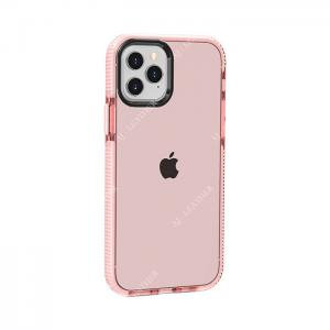 China Transparent Pink TPE Iphone11 Smartphone Protective Cases factory