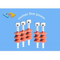 Buy cheap Flexible 15kV Composite Silicone Insulators , High Voltage Power Line Insulator from Wholesalers