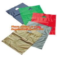 China Clothes, shoes, supermarket die cut handle, shopping bag, everyday use, Merchandise bags factory