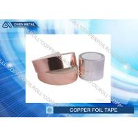 China Heat - Resistant Insulation Copper Foil Tape FOR transformers , computers factory
