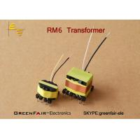 Buy cheap Flyback Small Size Transformer RM6 4 + 4 Pin Switching Power Supply Custom Design from Wholesalers