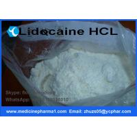 Buy cheap Local Anesthetic APIS Lidocaine Hydrochloride for For Pain Reliever CAS 73-78-9 from Wholesalers