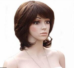 China African American Natural Human Hair Wigs Natural Looking / ladies human hair wigs on sale