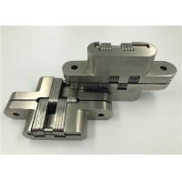 Buy cheap Custom Made Invisible Spring Hinges , Stainless Steel Continuous Hinges Heavy Duty from Wholesalers