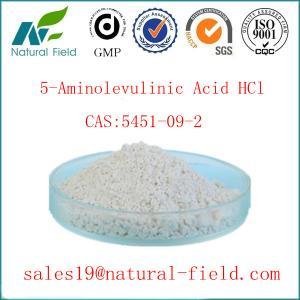 China 5-ala hot selling in EU and USA 5-ALA HCL 5451-09-2 5-Aminolevulinic Acid HCl factory