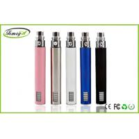 Buy cheap safe 900mah Ego Lcd VV E Cig 510 Thread / Adjustable Voltage E Cig , 129mm * 17mm from Wholesalers