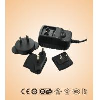China 6W KSAB Series ktec power adapter with interchangeable plugs with  CB , GS , CE , TUV on sale