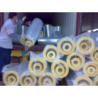 China FSK glass wool pipe factory
