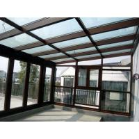 China Waterproof Aluminum Sun Room Tempered Glass Garden Green House Energy Saving factory